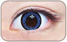blue circle lens