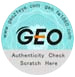 geo authenticity seal