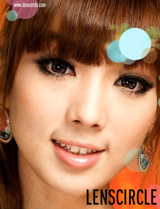flower purple circle lenses