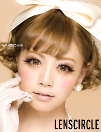 starmish brown circle lenses