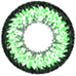 green super nudy circle lens